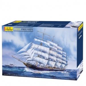 Plastikinis modelio rinkinys Heller 80894 Laivas Preussen 1:150 Klijuojami modeliai vaikams