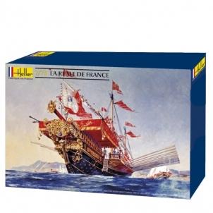 Plastikinis modelio rinkinys Heller 80898 Laivas La Reale De France 1:75 Klijuojami modeliai vaikams