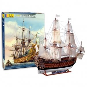 Plastikinis modelio rinkinys Heller 80899 Laivas Soleil Royal 1:100 Klijuojami modeliai vaikams