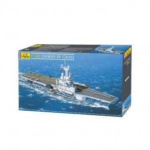 Plastikinis modelio rinkinys Heller 81072 Laivas - lėktuvnešis 1/400 Klijuojami modeliai vaikams