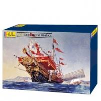Plastikinis surenkamas laivas Heller 80898 La Reale De France 1:76 Kuģu un laivu bērniem