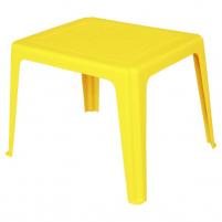 Plastikinis vaikiškas stalas Elba (geltonas) Outdoor tables
