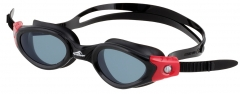 Plaukimo akiniai AQF FASTER 4143 black/red Glasses for water sports