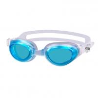 Plaukimo akiniai AQUA-SPEED AGILA JR white/blue Akiniai vandens sportui
