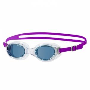 Plaukimo akiniai Futura Classic female, purple/smoke SR Glāzes ūdens sporta veidi