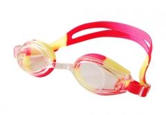 Plaukimo akiniai INDIGO G102, geltoni-raudoni Glāzes ūdens sporta veidi