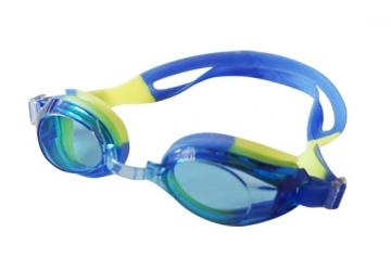 Plaukimo akiniai INDIGO G103, geltoni-mėlyni