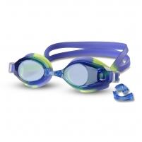 Plaukimo akiniai INDIGO G203, geltoni-mėlyni
