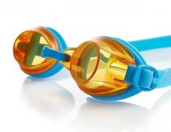 Plaukimo akiniai speedo JET V2 Junior blue/orange Glāzes ūdens sporta veidi