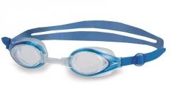 Plaukimo akiniai SPEEDO MARINER JUNIOR 6-14 years white-blue Akiniai vandens sportui