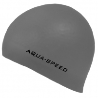 Plaukimo kepuraitė AQUA SPEED 3 D, Spalva juoda Outdoor clothing