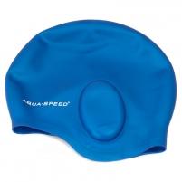 Plaukimo kepuraitė Aqua Speed EAR CAP, Spalva pilka Outdoor clothing