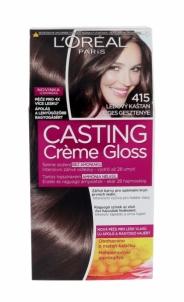Plaukų dažai L´Oreal Paris Casting Creme Gloss Cosmetic 1ks Shade 415 Iced Chocolate Plaukų dažai