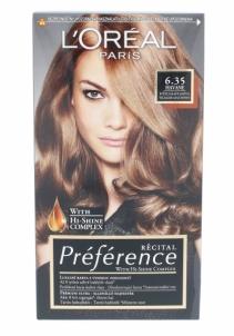 Plaukų dažai L´Oreal Paris Préférence Récital Hair Colour Cosmetic 1ks Shade 6.35 Havane Plaukų dažai