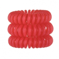 Plaukų gumutė Invisibobble Hair Ring 3vnt. Red