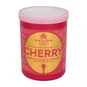 Plaukų kaukė Kallos Cosmetics Cherry Hair Mask Cosmetic 1000ml Kaukės plaukams