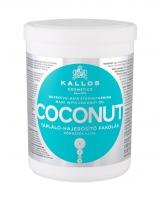 Plaukų kaukė Kallos Cosmetics Coconut Hair Mask 1000ml Kaukės plaukams