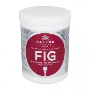 Plaukų kaukė Kallos Cosmetics Fig Hair Mask Cosmetic 1000ml Kaukės plaukams