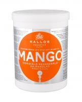 Plaukų kaukė Kallos Cosmetics Mango Hair Mask 1000ml Kaukės plaukams