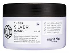 Plaukų kaukė Maria Nila Nutritive Mask for Blonde Hair Sheer Silver (Masque) 250 ml Kaukės plaukams