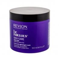 Plaukų kaukė Revlon Professional Be Fabulous Daily Care Fine Hair Hair Mask 500ml Kaukės plaukams