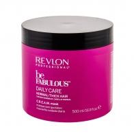 Plaukų kaukė Revlon Professional Be Fabulous Daily Care Normal/Thick Hair Hair Mask 500ml Kaukės plaukams