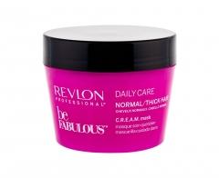 Plaukų kaukė Revlon Professional Be Fabulous Daily Care Normal/Thick Hair Hair Mask 200ml