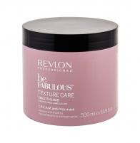 Plaukų kaukė Revlon Professional Be Fabulous Texture Care Smooth Hair Hair Mask 500ml Kaukės plaukams