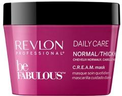 Plaukų kaukė Revlon Professional Mask for normal to strong hair Be Fabulous ( Daily Care Normal/Thick Hair Cream Mask) 500 ml Kaukės plaukams
