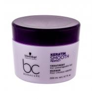 Plaukų kaukė Schwarzkopf BC Bonacure Keratin Smooth Perfect Hair Mask 200ml Kaukės plaukams
