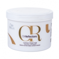 Plaukų kaukė Wella Oil Reflections Luminous Reboost Mask Cosmetic 500ml Kaukės plaukams