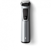 Plaukų kirpimo mašinėlė Philips Warranty 24 month(s), Wet & Dry, stubble combs (1,2 mm) , 1 adjustable beard comb (3-7 mm) and 3 hair combs (9,12,16 mm)., Waterproof, Battery level indicator, Multigroom series 7000 14-in-1, Cordless