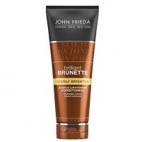 Plaukų kondicionierius John Frieda Conditioner for shine brown hair Brilliant Brunette Visible Brighter (Subtle Light ening Conditiooner) 250 ml Kondicionieriai ir balzamai plaukams
