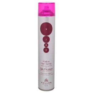 Plaukų lakas Kallos KJMN Silk Protein Hair Spray Extra Strong Cosmetic 750ml