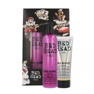 Plaukų priežiūros rinkinys Tigi Bed Head Blonde Therapy Kit Cosmetic 600ml Kosmetikos rinkiniai