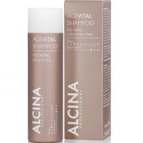 Plaukų šampūnas Alcina Shampoo for mature, dyed hair AgeVital 150 ml Šampūnai plaukams