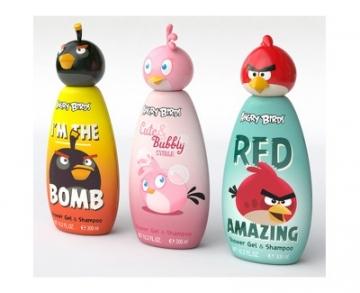Plaukų šampūnas EP Line Disney Angry Birds Shampoo 2 in 1 for children 300 ml Šampūnai plaukams