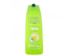 Plaukų šampūnas Garnier Fortifying Shampoo for Normal and quickly greasy hair Fresh - 250 ml Šampūnai plaukams