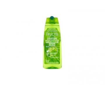 Plaukų šampūnas Garnier Fortifying Shampoo for Normal and quickly greasy hair Vita Boost Fresh - 250 ml Šampūnai plaukams