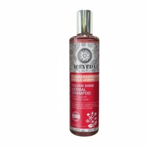 Plaukų šampūnas Iceveda Herbal shampoo Bright color with tundra raspberries and jasmine 280 ml Шампуни для волос