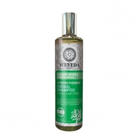 Plaukų šampūnas Iceveda Strengthening herbal shampoo Icelandic moss and Indian amla 280 ml Šampūnai plaukams