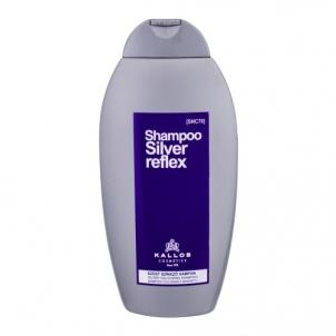 Plaukų šampūnas Kallos Cosmetics Silver Reflex Shampoo Cosmetic 350ml Šampūnai plaukams
