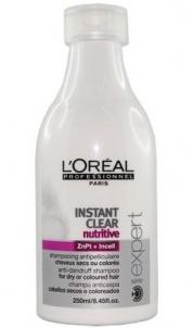 Plaukų šampūnas L´Oreal Paris Expert Instant Clear Nutritive Shampoo Cosmetic 1500ml Šampūnai plaukams