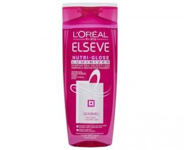 Plaukų šampūnas Loreal Paris Shampoo for brilliant shine ELSEV Nutri-Gloss Luminizer - 250 ml Šampūnai plaukams