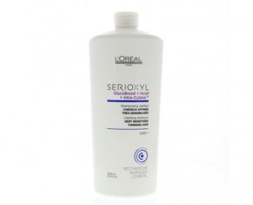 Plaukų šampūnas Loreal Professionnel Shampoo for thinning hair sensitive Serioxyl 3 (Shampoo For Very Sensitive Hair thinning) - 1000 ml Šampūnai plaukams