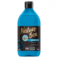 Plaukų šampūnas Nature Box Natural Shampoo Coconut Oil 385 ml Šampūnai plaukams