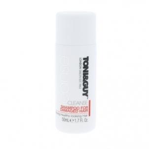 Plaukų šampūnas Toni&Guy Cleanse Shampoo For Damaged Hair Cosmetic 50ml Šampūnai plaukams
