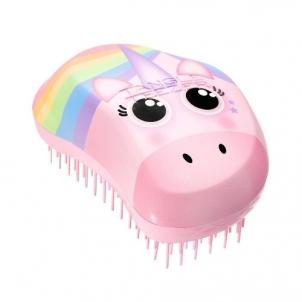 Plaukų šepetys Tangle Teezer Original Rainbow Unicorn Print Hair Brush Plaukų šepečiai