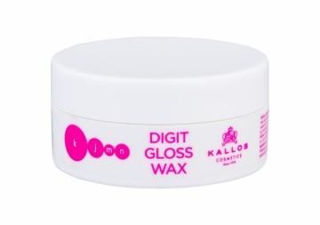 Plaukų vaškas Kallos Cosmetics KJMN Digit Gloss Wax Hair Wax 100ml Plaukų modeliavimo priemonės