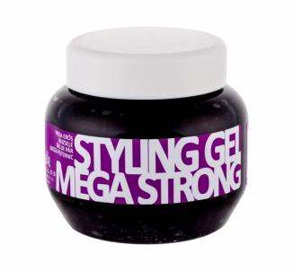 Plaukų želė Kallos Cosmetics Mega EXTRA STRONG 275ml Plaukų modeliavimo priemonės
